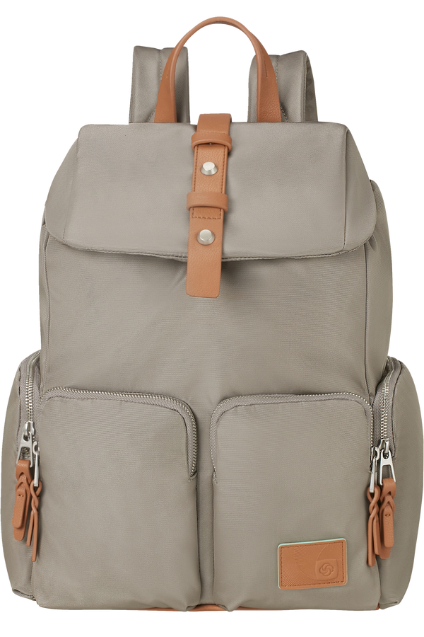 Samsonite Yourban Laptop Backpack + Flap  14.1inch Military Green