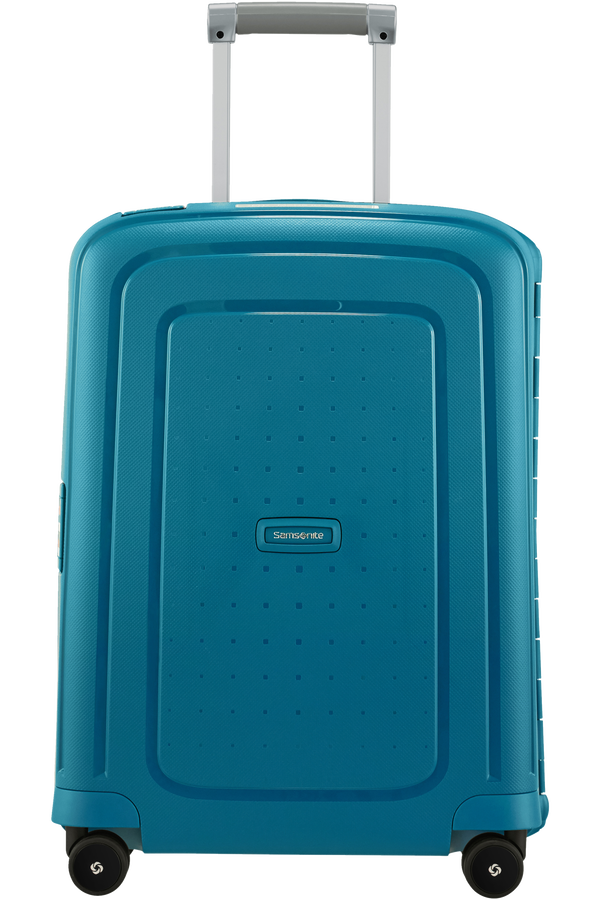 Samsonite S'Cure Spinner 55cm  Petrol Blue Stripes