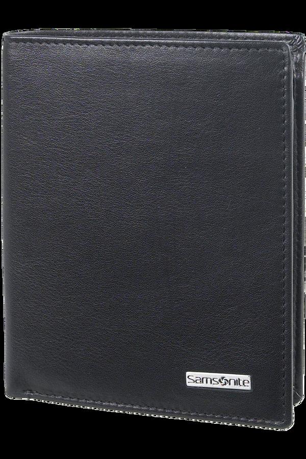 Samsonite S-Derry SLG Wallet S 4cc + Coin + 2C Schwarz