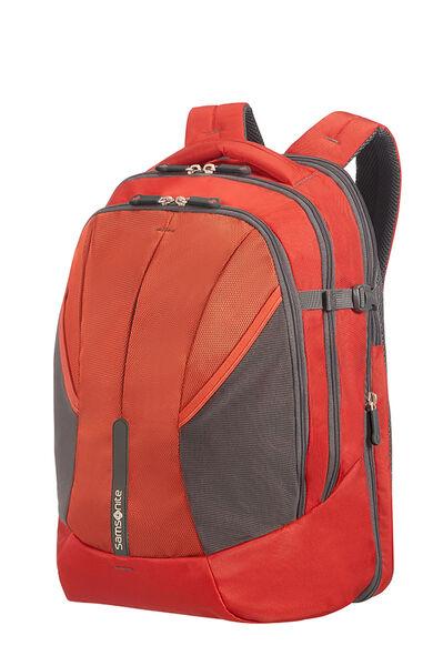 4Mation Laptop Rucksack L Red/Grey