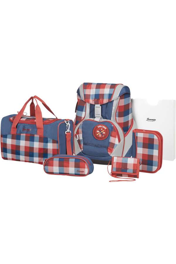 Samsonite Sammies Ergofit Set 2.0  Classic Checks