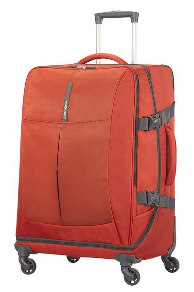 4Mation Reisetasche mit Rollen 67cm Red/Grey