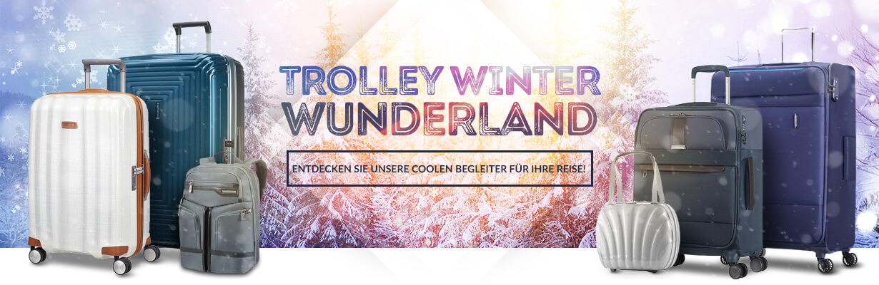 Trolley Winter Wunderland