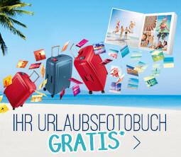 Ihr Urlaubsfotobuch gratis!
