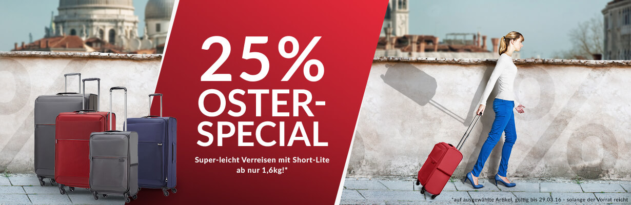 25% Oster-Special