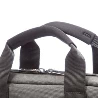 Komfortable Neopren-Griffe für leichten Tragekomfort.