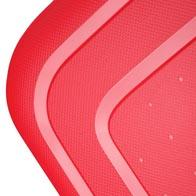 Langlebige, leichte Außenschalen aus 100 % Polypropylen. In vielen Farben erhältlich.