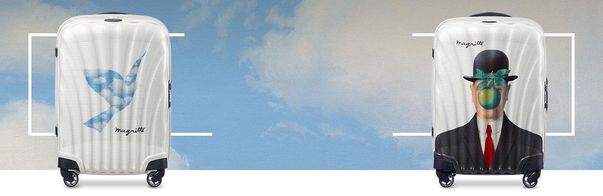 Samsonite x Magritte