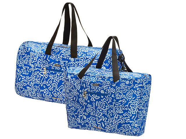Keith Haring's Travel Bags