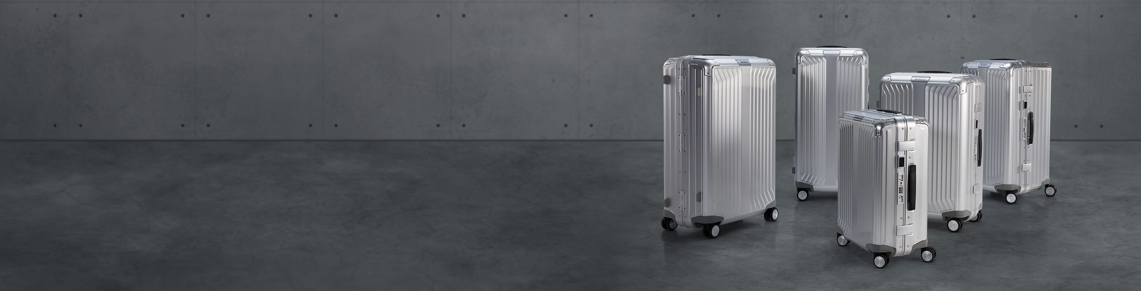 Trolley aus Aluminium