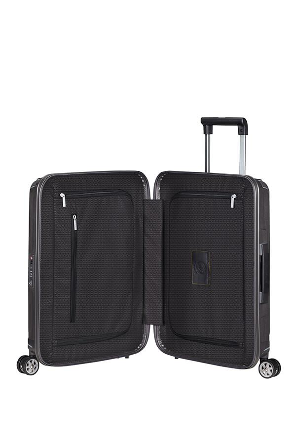 lite box trolley mit 4 rollen 55cm die mannschaft samsonite. Black Bedroom Furniture Sets. Home Design Ideas