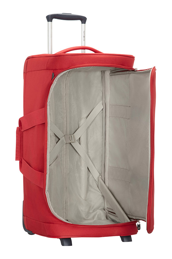 dynamo reisetasche mit rollen 77cm rot. Black Bedroom Furniture Sets. Home Design Ideas