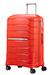 Flux Trolley mit 4 Rollen Erweiterbar 68cm Tangerine Red