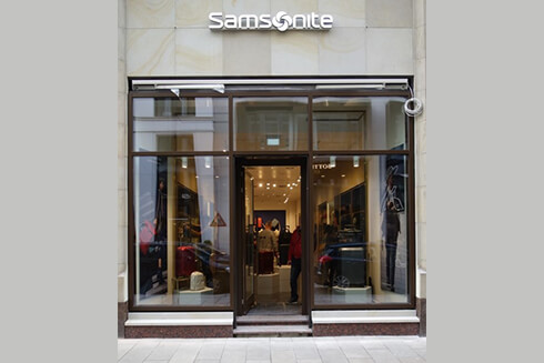 Samsonite Store Neuer Wall